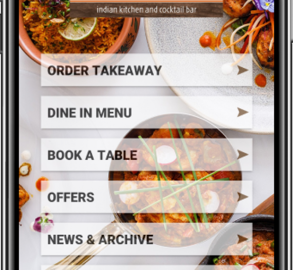 Download App & Order Takeaway  15% off + free delivery within 2 miles